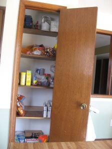 Deep Pantry Before