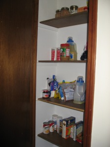 Shallow Pantry After