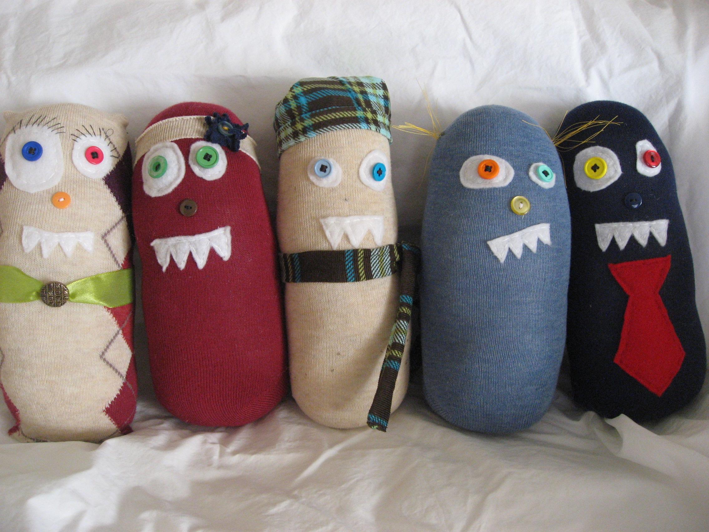 Sock Monsters | Meagan Makes